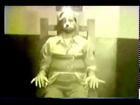 The Death Penalty : A Real Execution by Electric Chair
