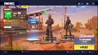 Displays mins Skins-fortnite English