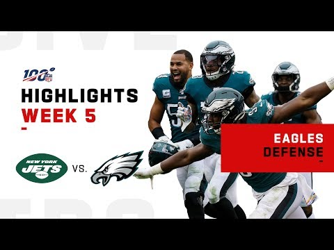 Eagles Defense Steamrolls