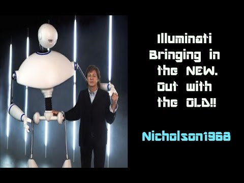 Illuminati Bringing in the New Race,Out with the Old! Walking in your Footsteps!