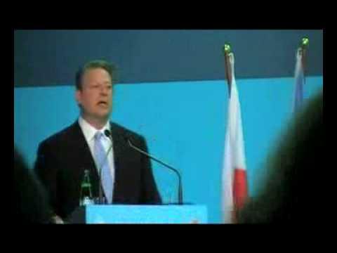 Al Gore Endorses 350 at Poznan UN Climate Talks