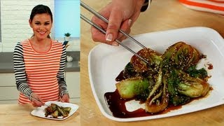 Sesame Bok Choy Recipe | Easy Appetizers | Food How To