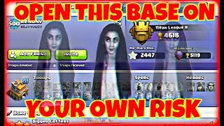 100% Real Ghost Base In Clash Of Clan,(VISIT ON YOUR OWN RISK)