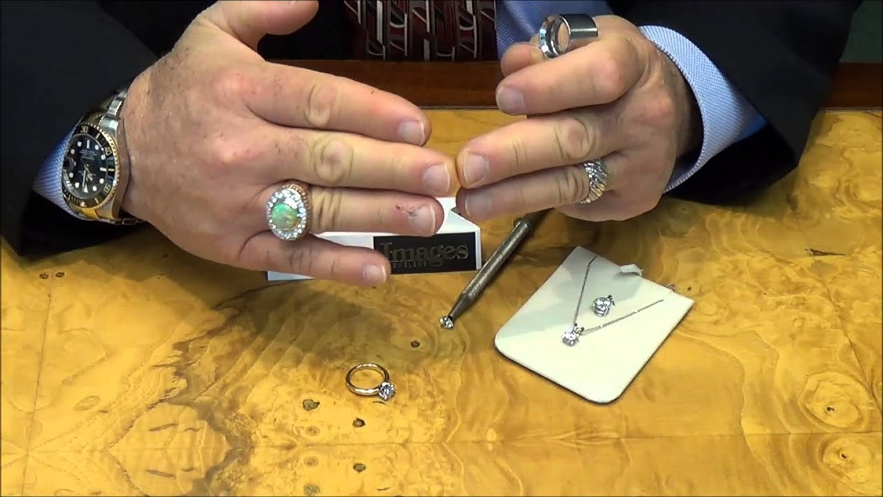 How To Tell If A Diamond Is Real Or Fake Youtube