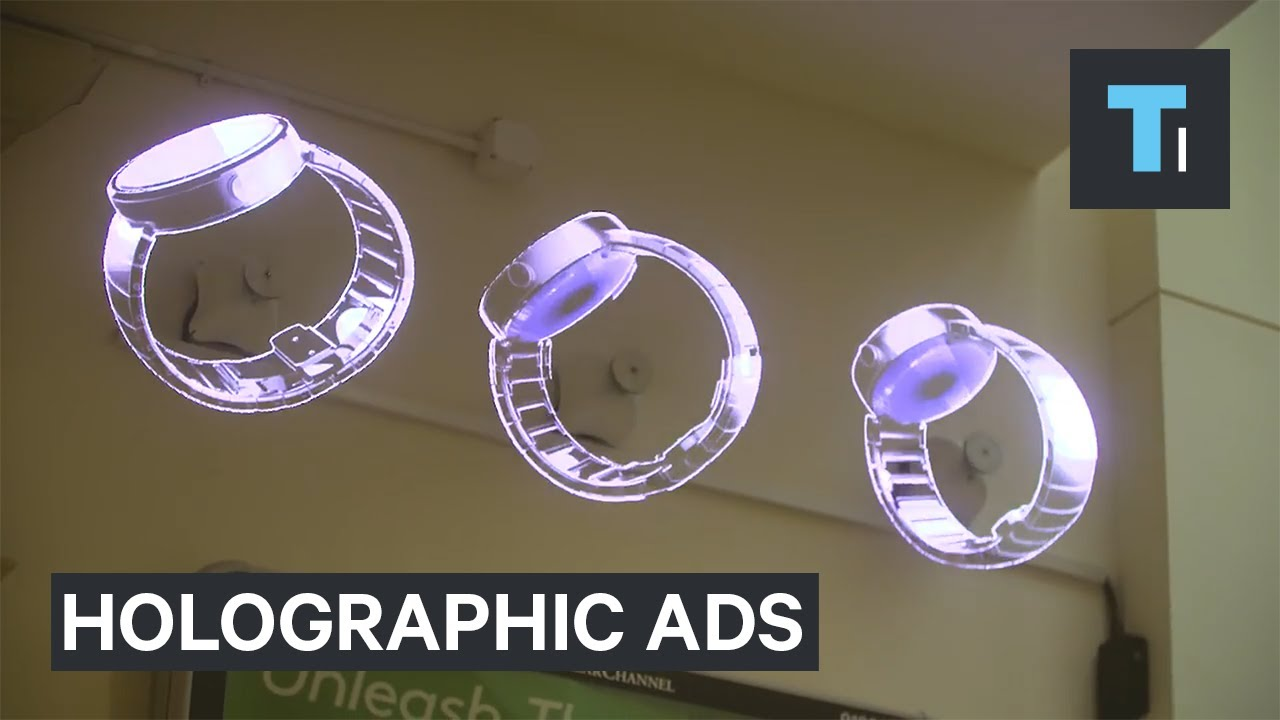 how to make hologram advertising