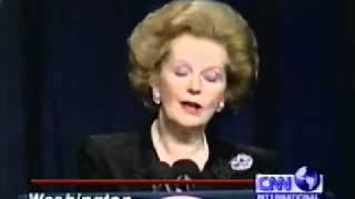 """Iron Lady"" Margaret Thatcher / Ronald Reagan's 83rd Birthday [1/5]"
