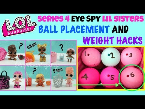 New Dolls Little Sister Eye Spy Wave 2 LOL Surprise