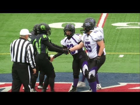 Women's Football - Maine Mayhem vs Western Connecticut Hawks - Video Highlights - May 19, 2018