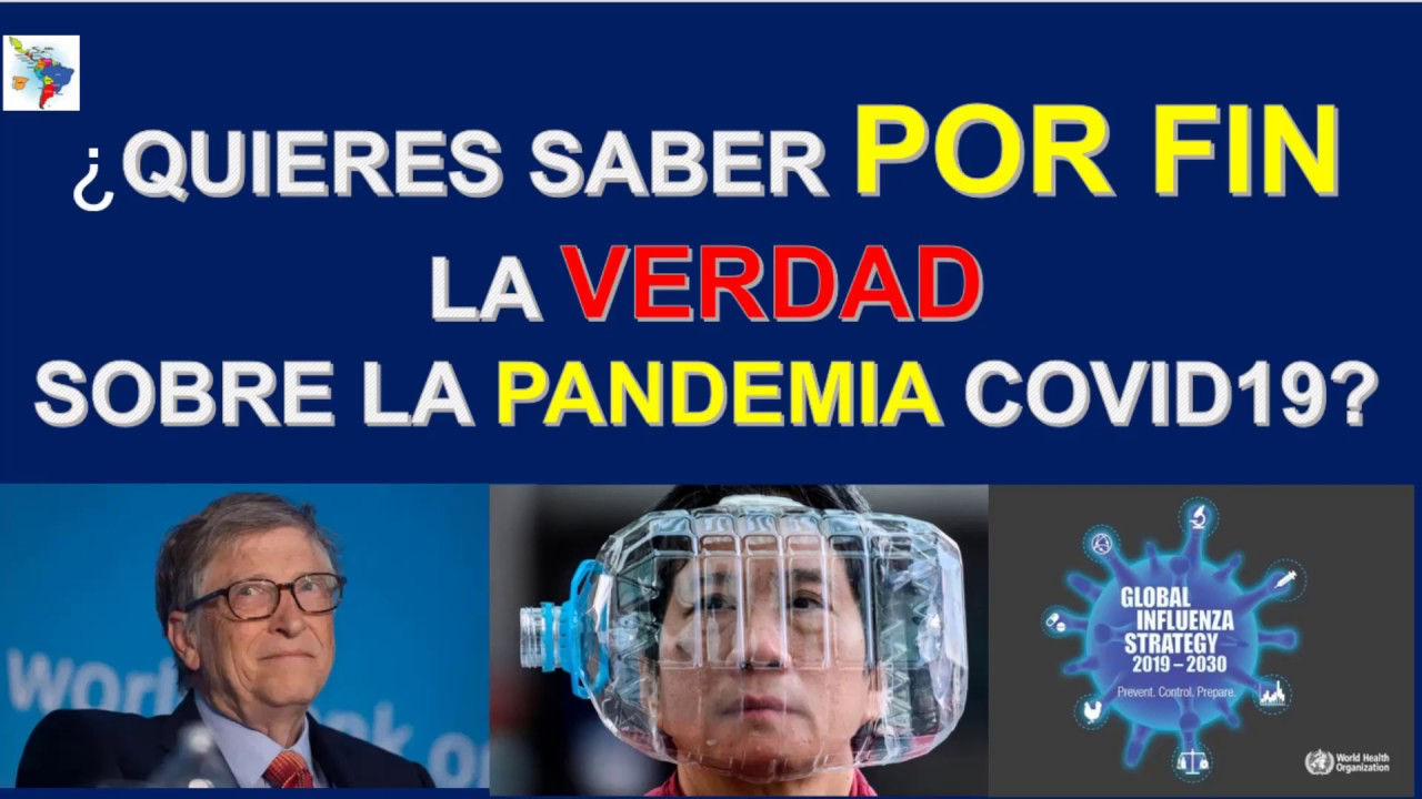 ¿QUIERES ACCEDER A LA VERDAD DE LA PANDEMIA COVID19 CON UN SOLO CLICK? MAPA HUMANIDAD2020