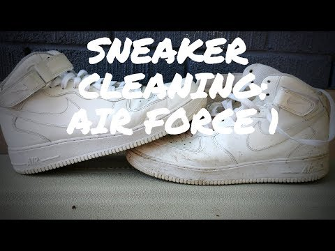 Sneaker Cleaning: Air Force 1's