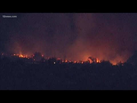 Brush Fire in Cave Creek (AZ) Prompts Evacuation Order - Fire ...