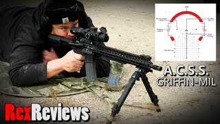 800 yds with 5.56 MADE EASY! - Primary Arms GRIFFIN 1-8x24 Platinum ACSS ~ Rex Reviews