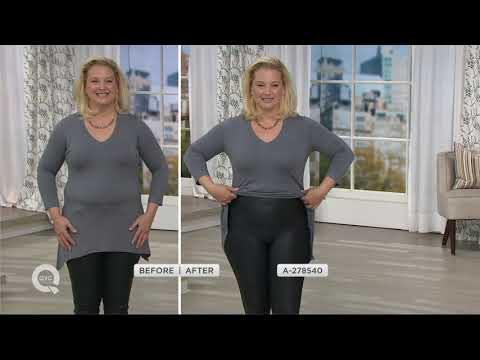 On Clearance hot-selling latest top fashion Spanx Faux Leather Leggings on QVC - YouTube