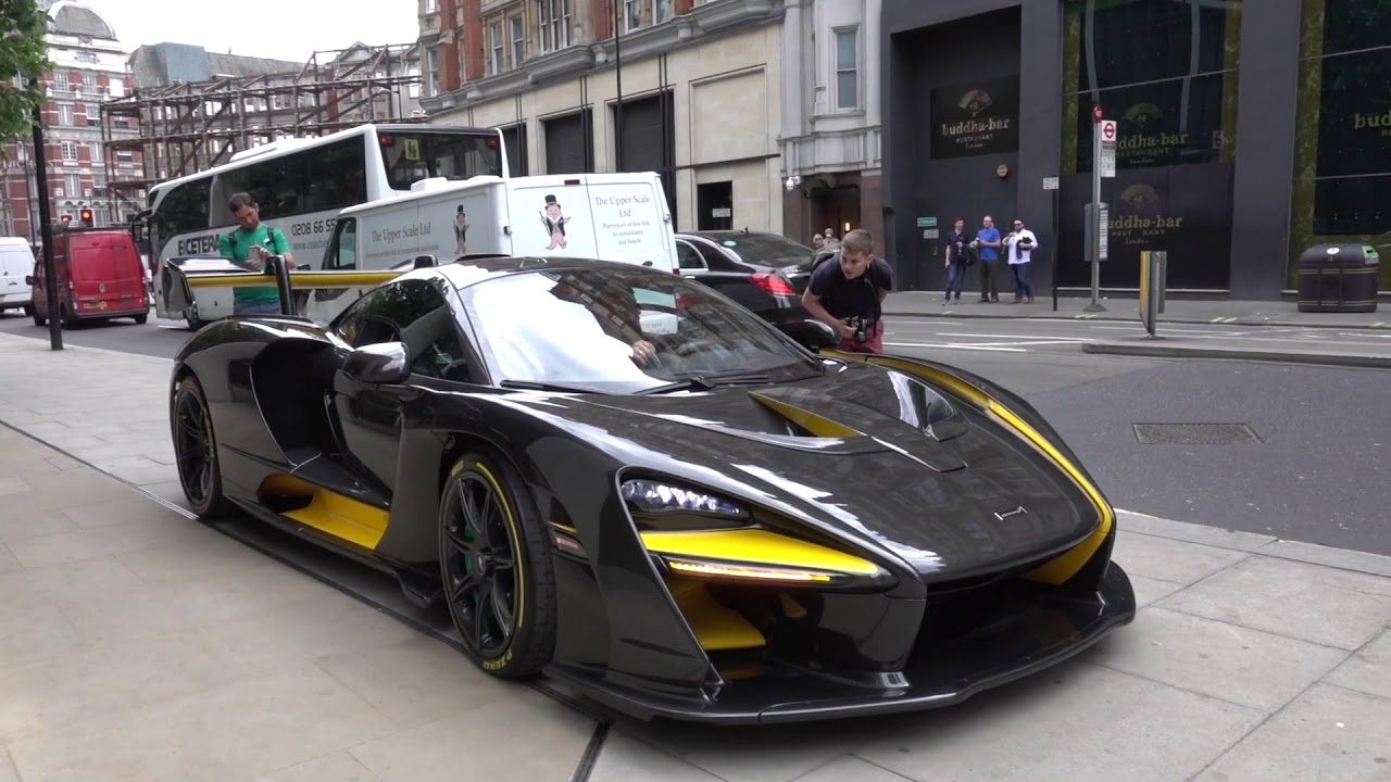 The first Mclaren Senna in London OMG!