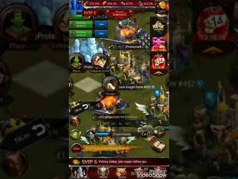 Clash Of Kings The West How To Plunder Dark Knight Mega Farms
