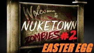 Nuketown Easter Egg/breakdown Step 2: Mushroom Cloud & The Aztec God Of Death [black Ops 2 Zombies]