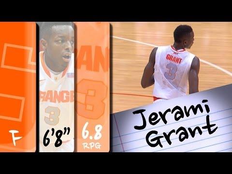 Official Highlights | Syracuse Forward Jerami Grant (#39 ...