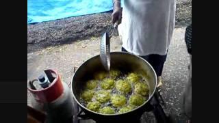 Trini Food- Indian Arrival Day 2011 - Trinidad & Tobago - Pepper Roti Saga