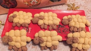 Печенье  Овечки рецепт  рецепт