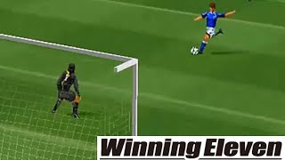 Winning Eleven 3 [PS1] Goal Compilation