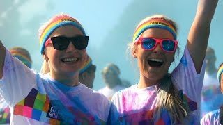 Color Run Sydney 2014 - Happiest 5K On The Planet!