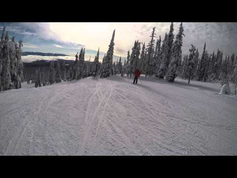 Big White Ski Resort Cruising - Black Forest Chair