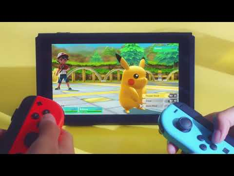 Pokémon Let's Go! Pikachu and Eevee is a startlingly basic