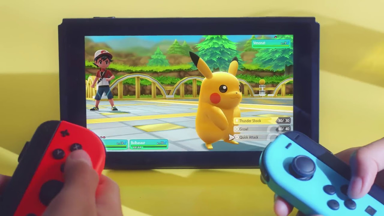Pokémon Let's Go! Pikachu and Eevee is a startlingly basic reboot