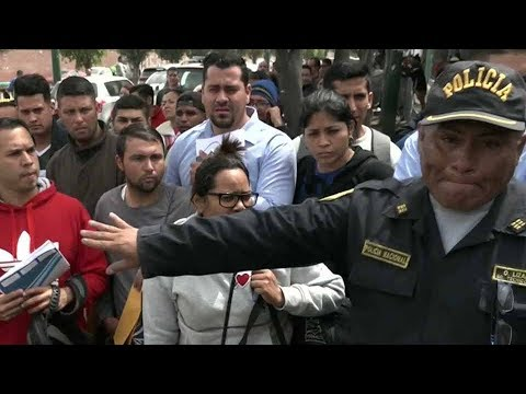 Peru, Ecuador to require passports from Venezuelan migrants to stem flow of people