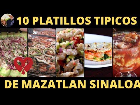 10 PLATILLOS TIPICOS DE MAZATLAN SINALOA   COMIDA TIPICA DE MAZATLAN