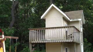 A Two Story Kids Playhouse