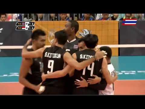FINAL   Thailand v Indonesia    2017 SEA Games Men's Volleyball   Kuala Lumpur