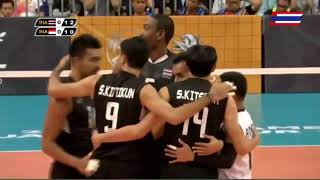FINAL   Thailand v Indonesia    2017 SEA Games Men's Volleyball   Kuala Lumpur