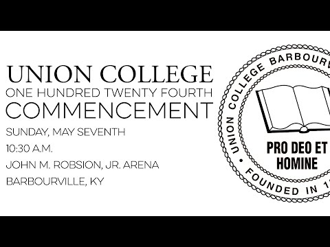 2017 Union College Commencement - May 7, 2017