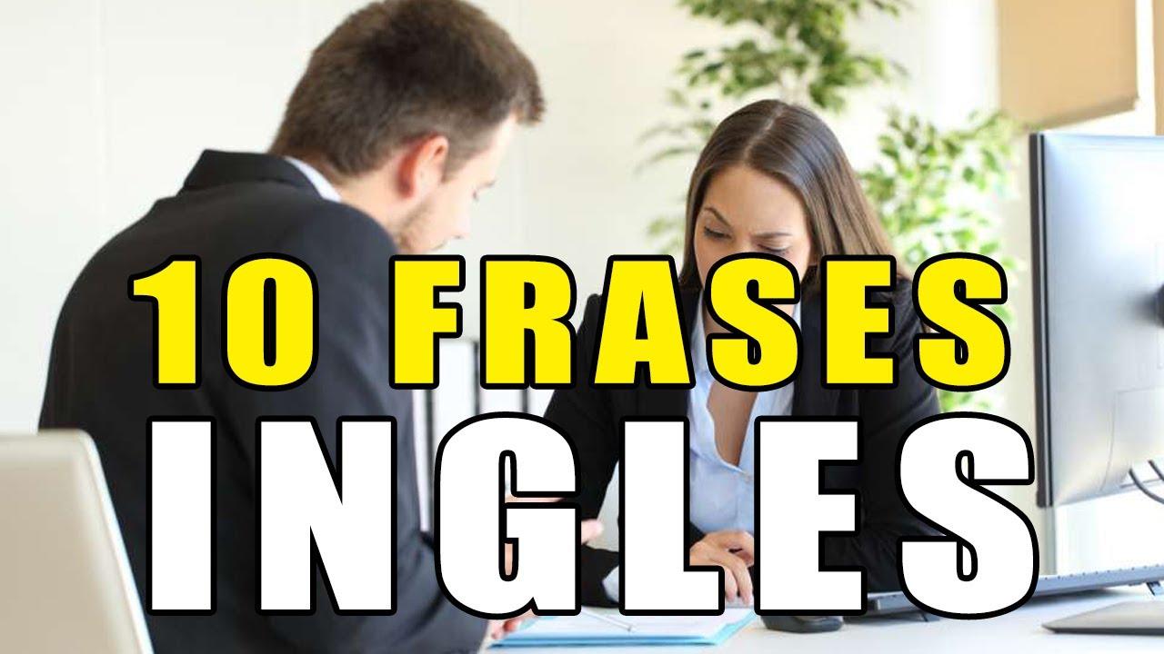 APRENDE ÉSTAS 10 FRASES EN INGLÉS DE TRABAJO   Aprender Ingles con Alan
