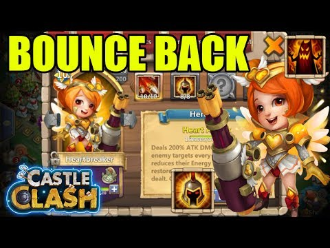 HEARTBREAKER COMING BACK TO TOP HEROES? - CASTLE CLASH