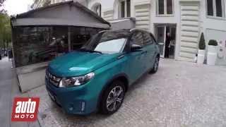 Nouveau Suzuki Vitara : essai complet en exclusivité auto-moto
