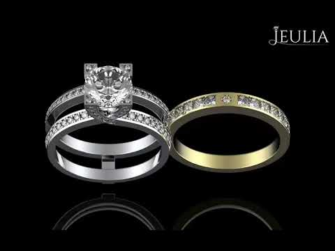 Interchangeable Couple Promising Ring