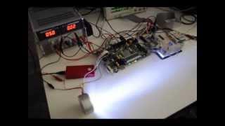 Visible Light Communications System: Digital Audio Transmission System based on Lighting LED Lamps