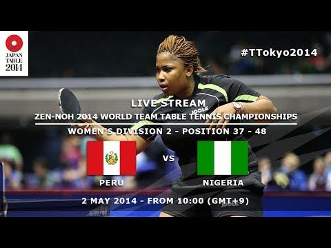 #TTokyo2014: Peru - Nigeria