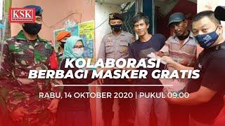 Cegah Covid-19, Ratusan Masker Dibagikan untuk Warga