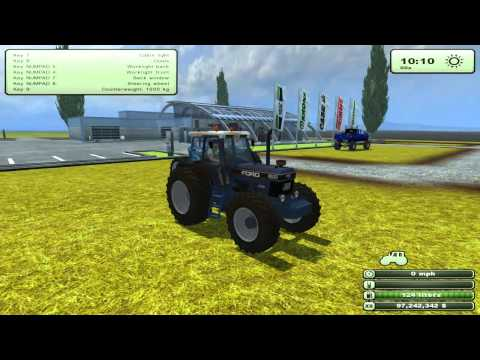 Farming Simulator Mods- Ford Tractors and Dodge 5500 Pack