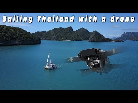 Sailing the Islands of the Gulf of Thailand 2017 4K