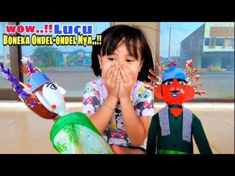 Wow..!! Ada Penjual Boneka Ondel-ondel Lucu   Review Boneka Ondel Ondel