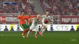 PES 2016 - UEFA Euro 2016 - Portugal vs Denmark Gameplay (PS4 HD) [1080p60FPS]