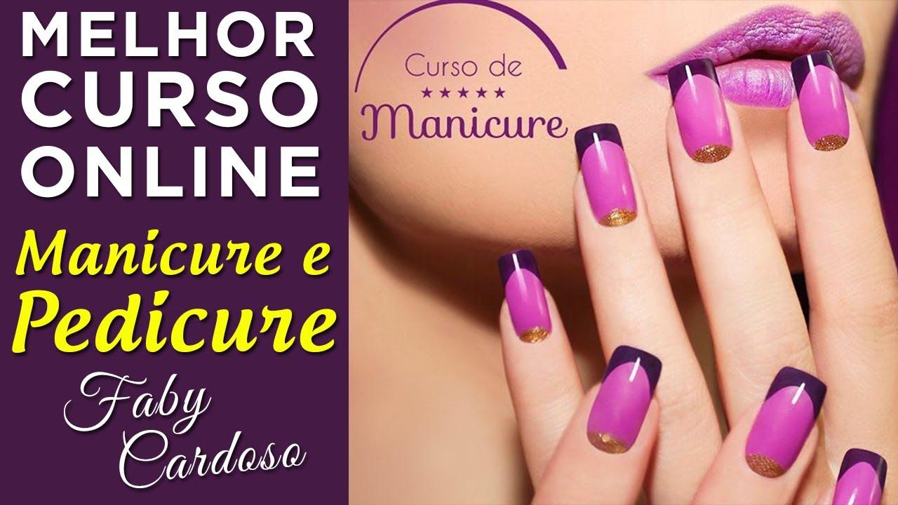 Curso De Manicure E Pedicure Top Cursos Online Youtube