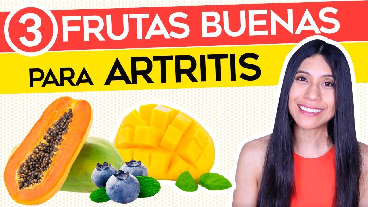 3 Frutas para la Artritis ¡Que debes comer!