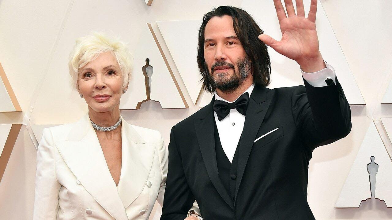 Oscars 2020: Keanu Reeves brings his mom, designer Patricia ...