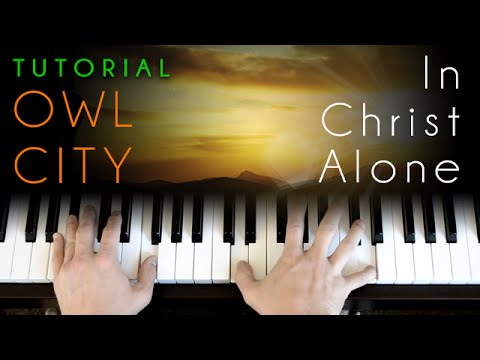 In Christ Alone Keyboard Chords By Keith Getty Worship Chords