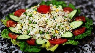 سلطة جد شهية رائعة وراقية بمكونات بسيطة و سريعة